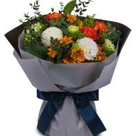 퐁퐁국화꽃다발